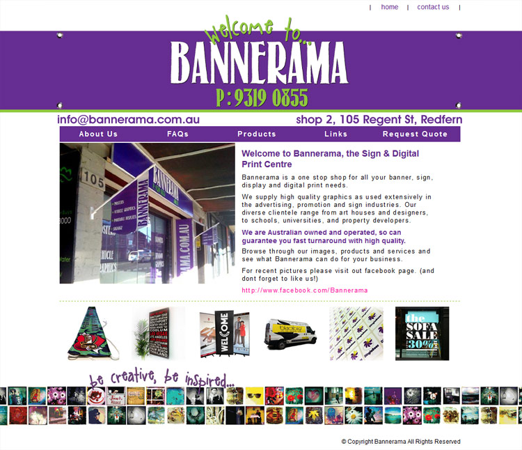 Bannerama - Knife Fork and Spoon Portfolio